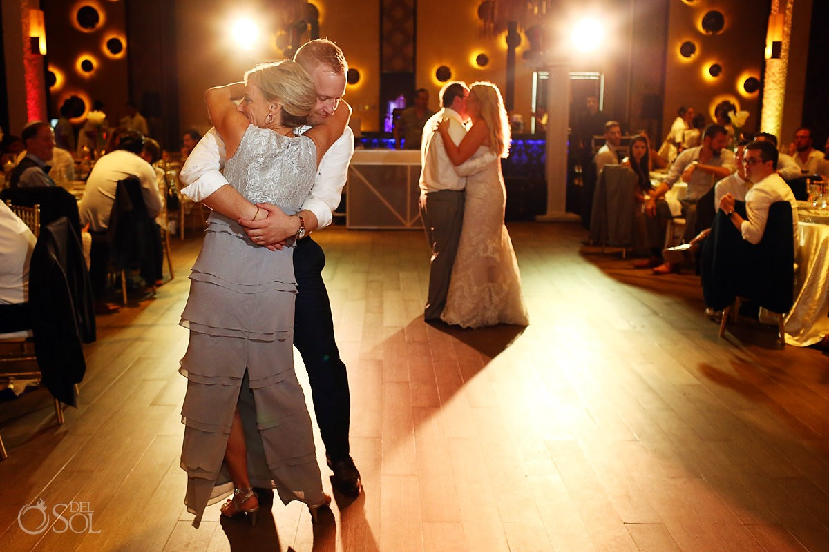Father and mother dance wedding reception Paradisus Playa del Carmen Riviera Maya Mexico