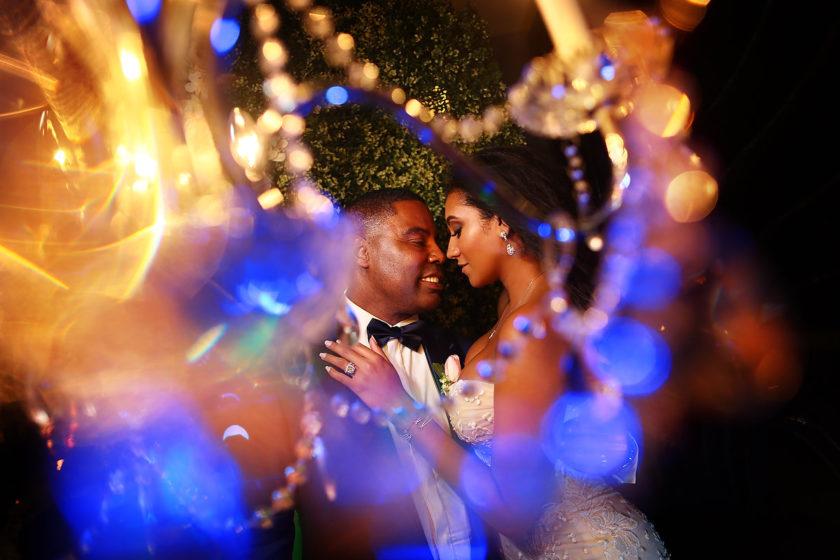 Kay Club wedding photo Bahia Petempich Cancun Mexico