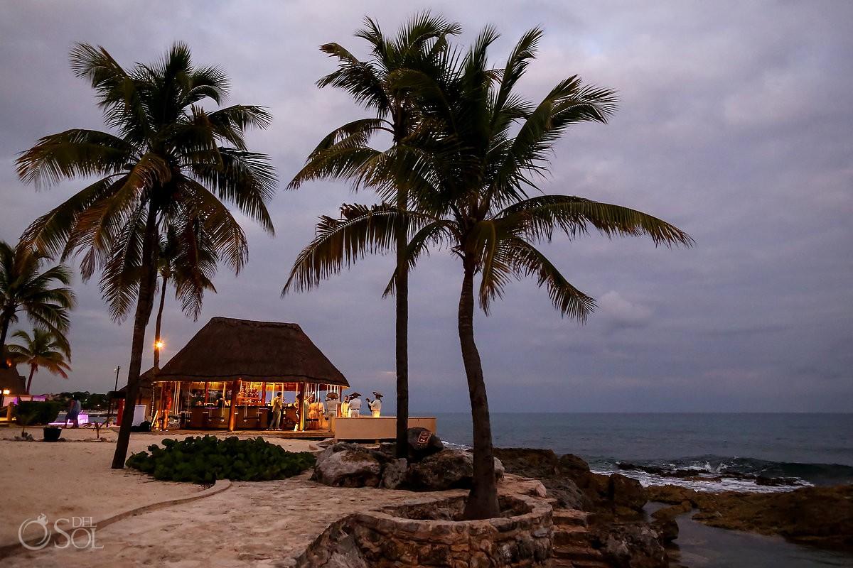 wedding reception gazebo at Dreams Puerto Aventuras