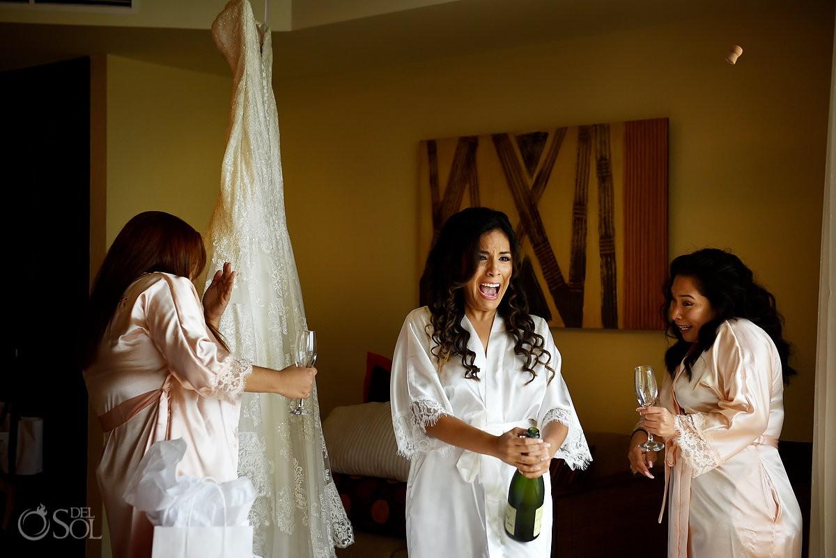 champagne cork Dreams Riviera Cancun Gazebo