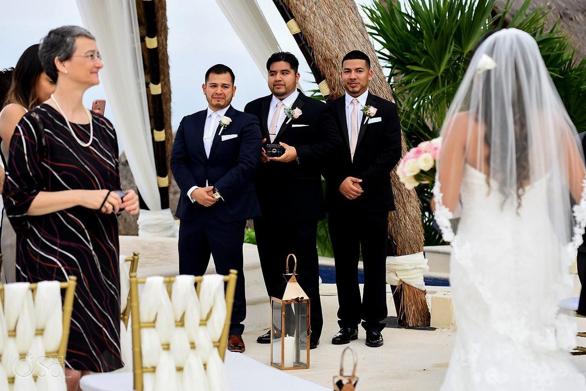 Dreams Riviera Cancun Gazebo destination wedding ceremony