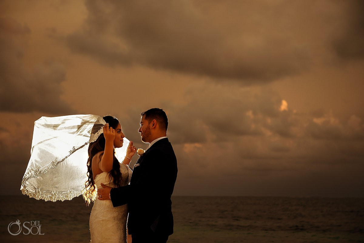destination wedding Dreams Riviera Cancun Gazebo