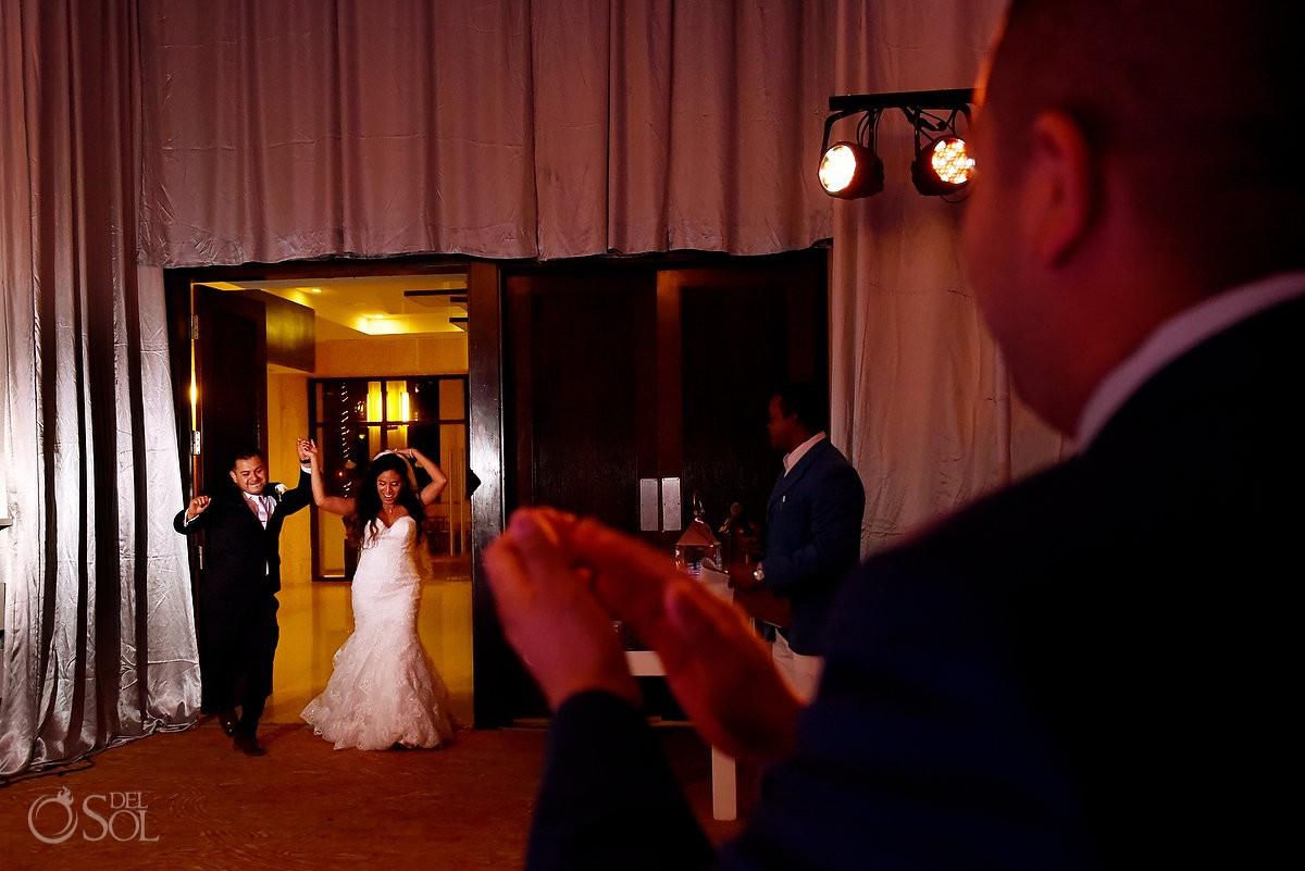 Dreams Riviera Cancun ballroom wedding reception
