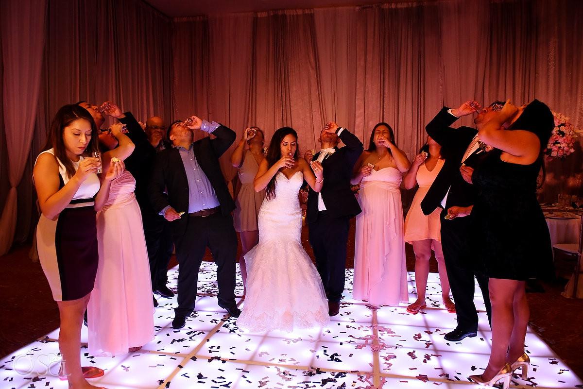 ballroom wedding dance Dreams Riviera Cancun