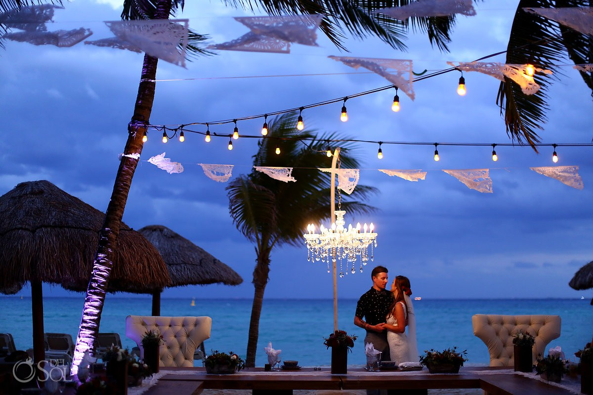 Mahekal Beach Wedding photo Playa del Carmen Mexico