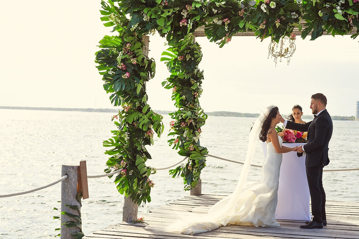 Wedding for two Cancun Elopement Nizuc Resort and Spa Mexico
