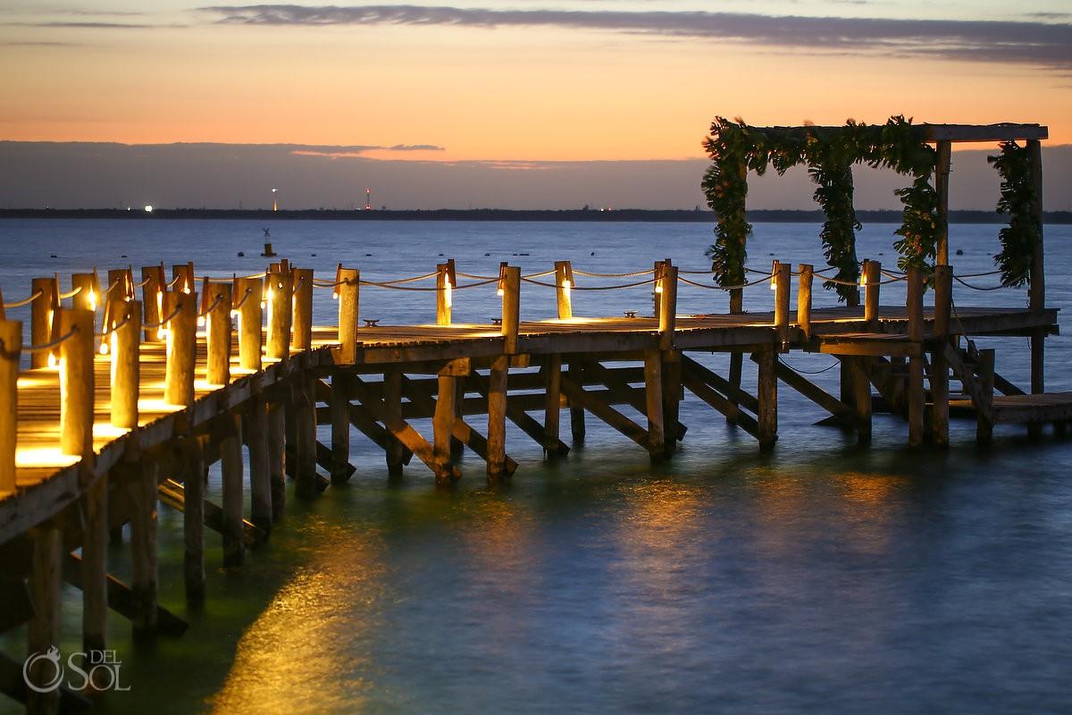 Wedding venue luxurious resort Cancun Elopement Nizuc Resort and Spa Mexico