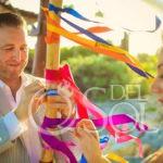 A Tulum Elopement ribbon alternative unity ceremony ideas