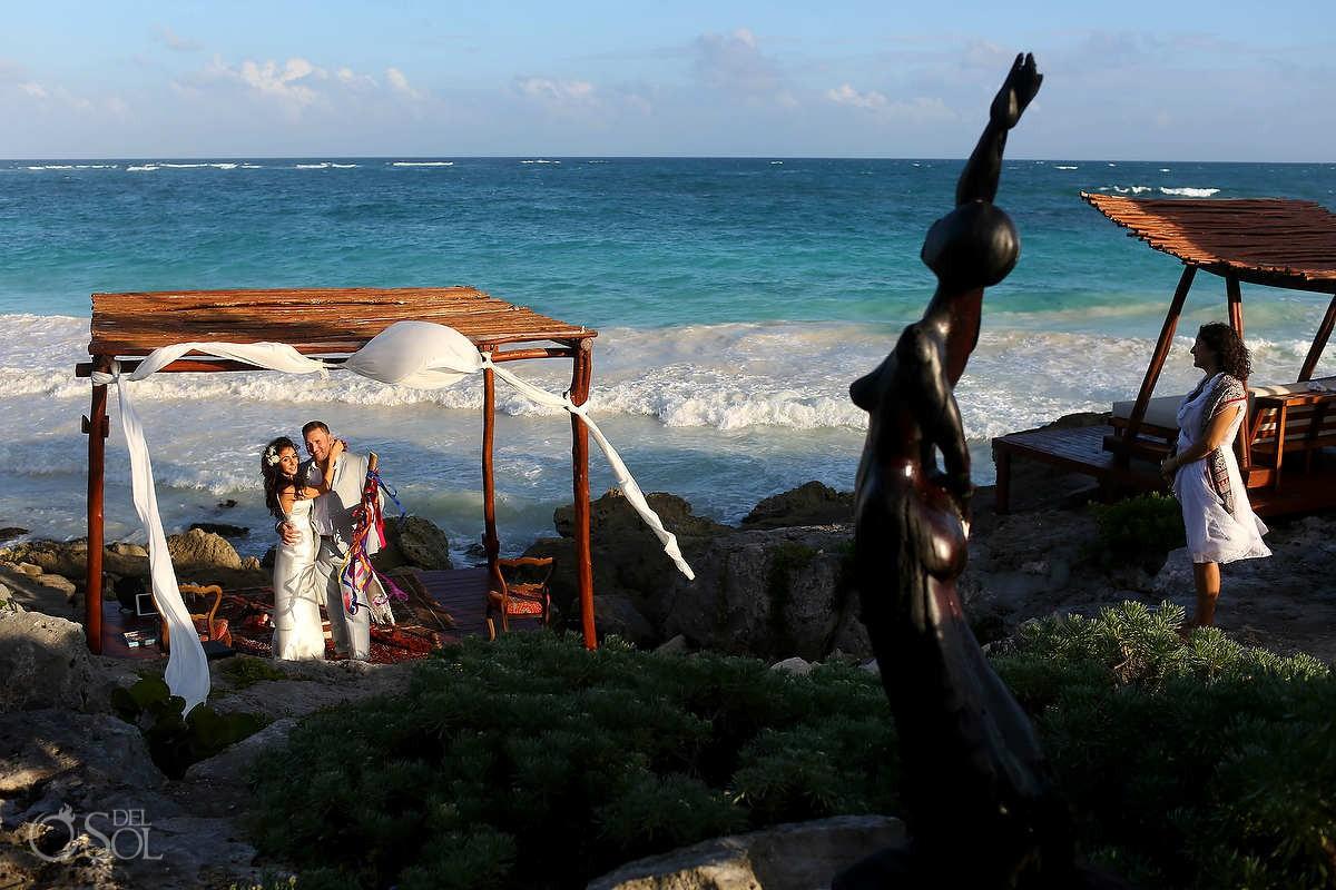Tulum Elopement wedding photos
