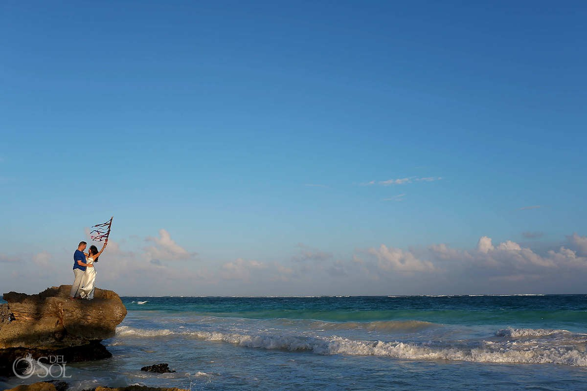 photo session in tulum mexico wedding elopement