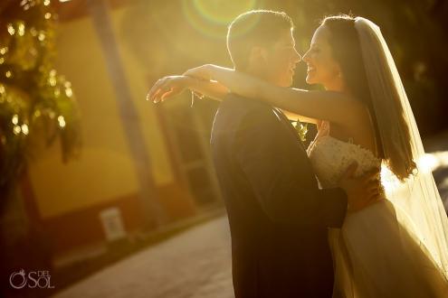 Valentin Imperial Maya wedding bride and groom
