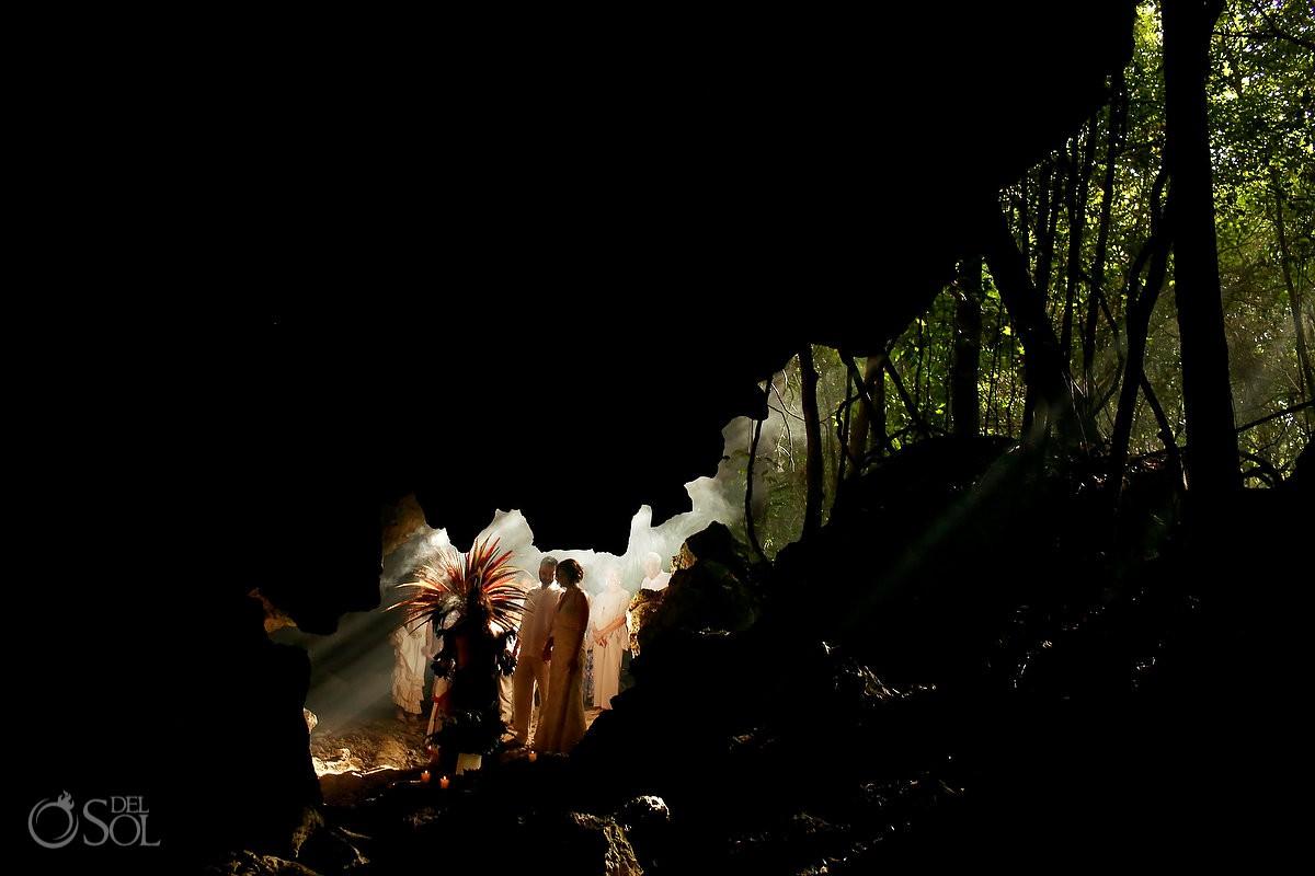 Special 20 year vow renewal cenote Mayan ceremony Riviera Maya Mexico best wedding venue ideas