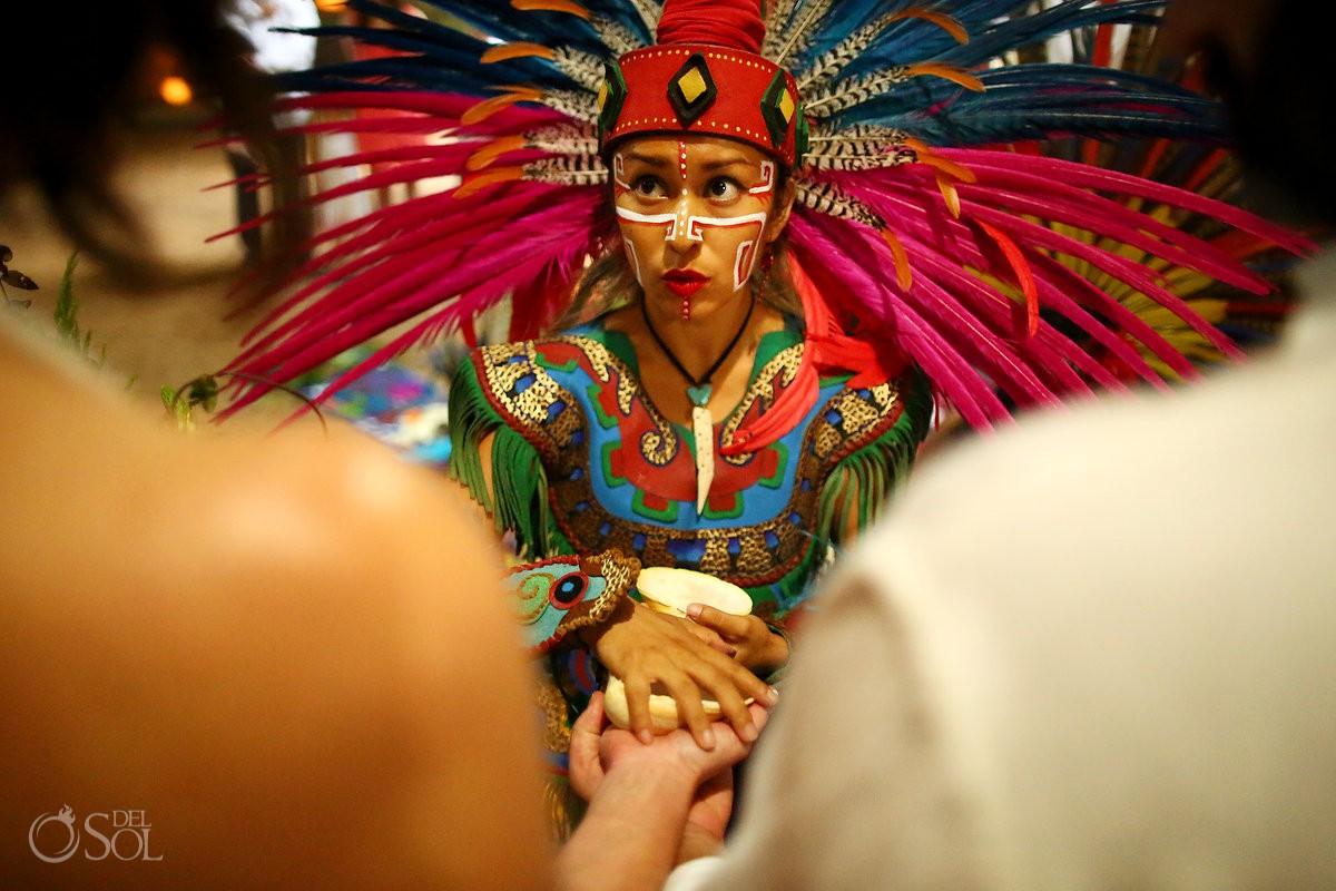 Destination wedding ceremony ideas mayan rituals Riviera Maya Mexico