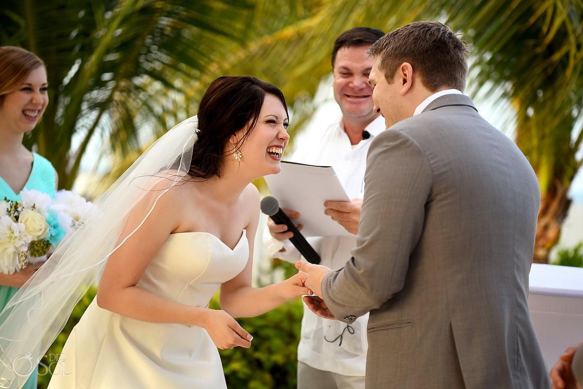 Wedding exchange rings Finest Playa Mujeres Wedding Stone Gazebo Ceremony Cancun
