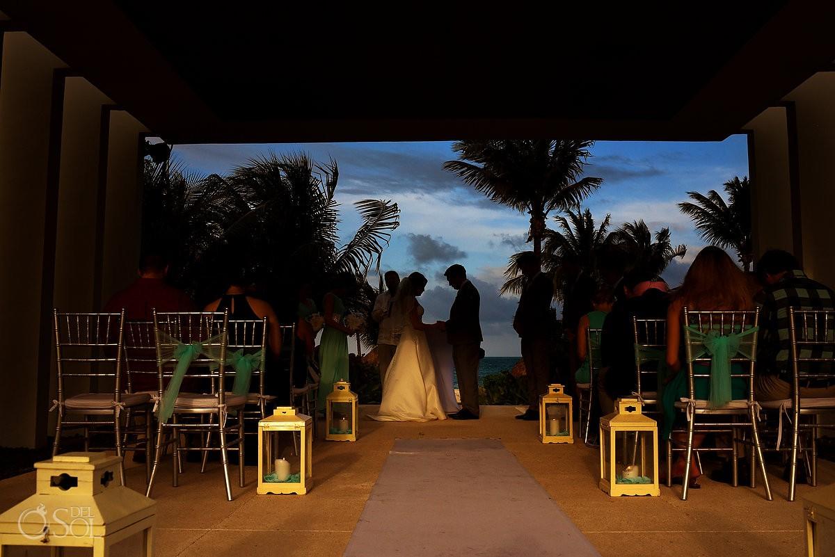 Best wedding venues get married Finest Playa Mujeres Wedding Stone Gazebo Ceremony Cancun