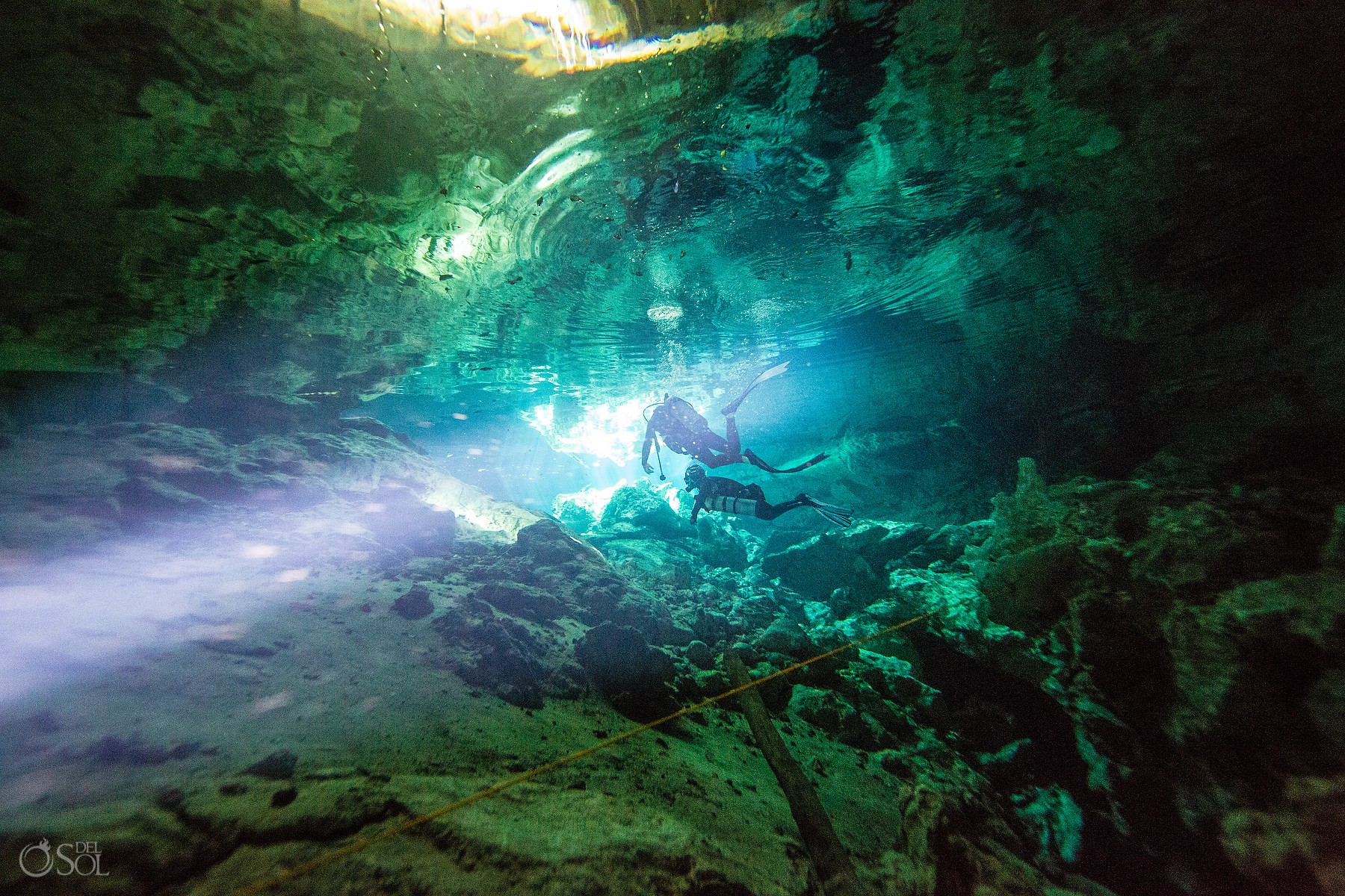 underwater fine art photography Cenote Riviera Maya Mexico
