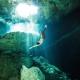 Gabriel Forestieri Underwater dancer Movement Invention Project Cenote Riviera Maya Mexico