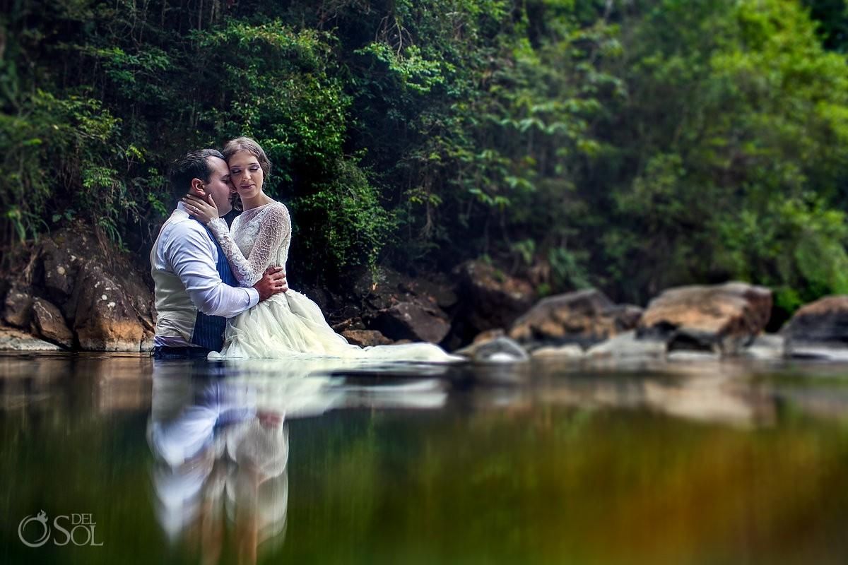 Cerro Azul Trash the Dress Panama City Panama Destination Weddings