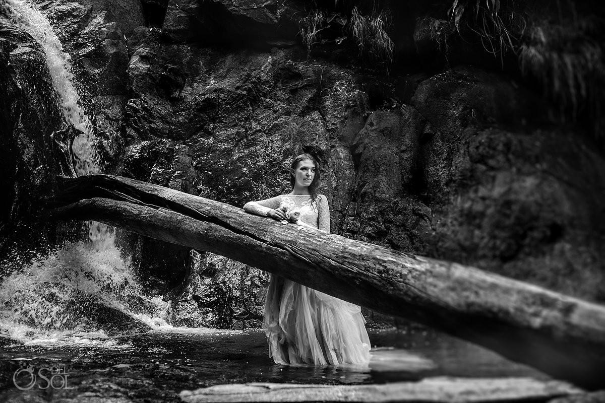Cerro Azul Trash the Dress Bride Portrait Panama City Panama