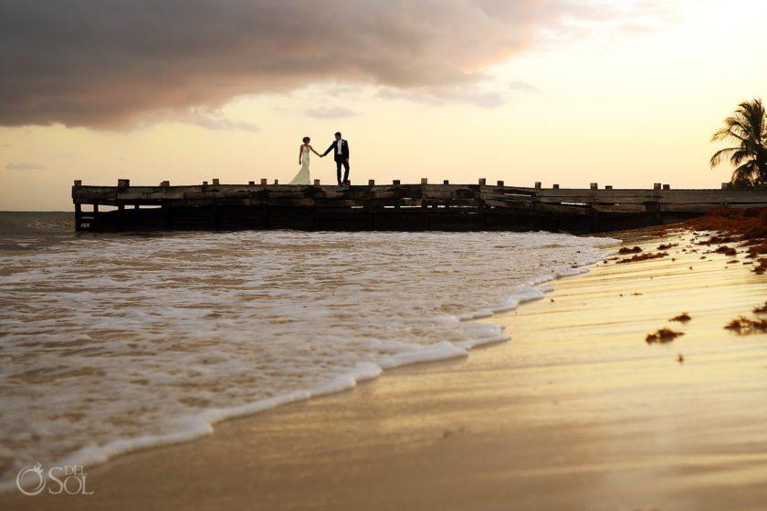 Secrets Capri Weddings #travelforlove mexico destination wedding photography playa del carmen