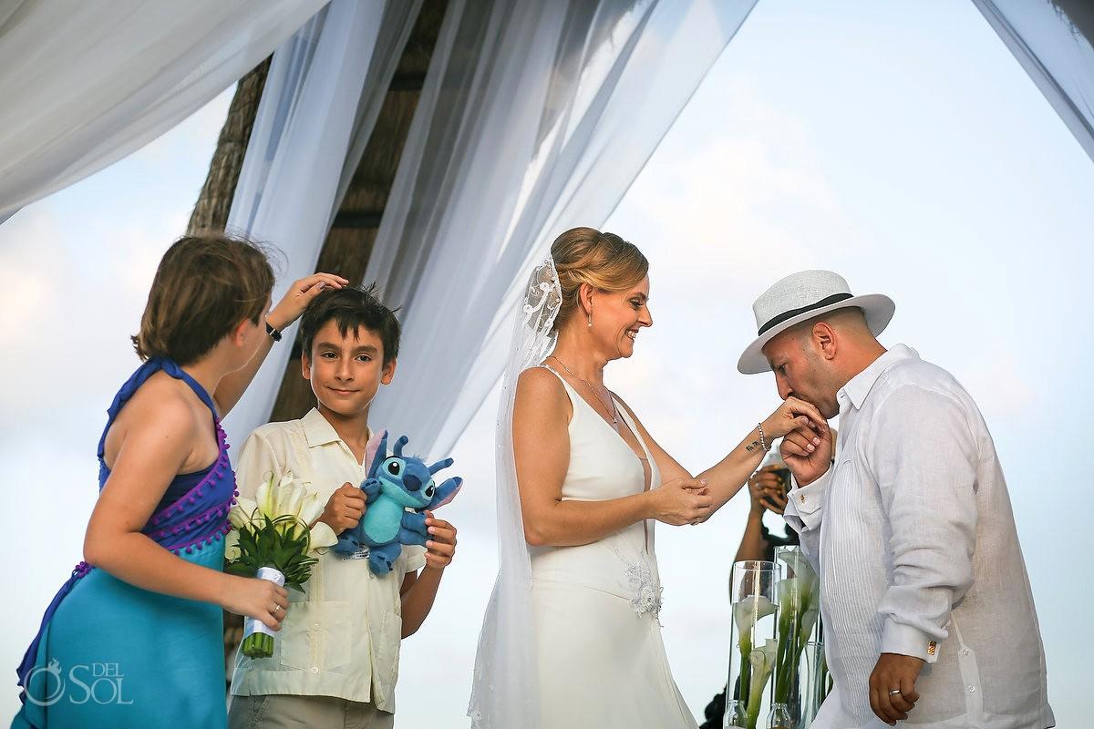 Wedding ceremony moments Wedding Dreams Riviera Cancun Resort Mexico