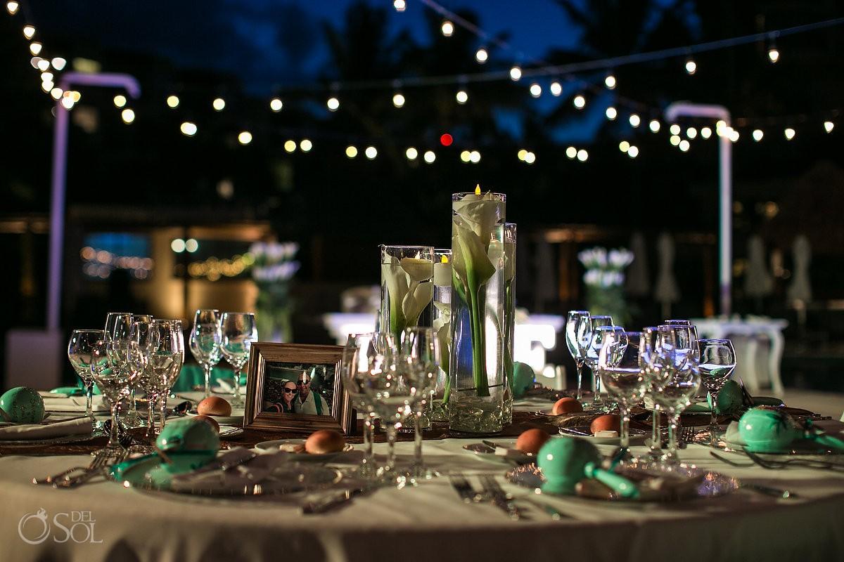 Wedding Dreams Riviera Cancun Resort Poolside Terrace Venue Mexico