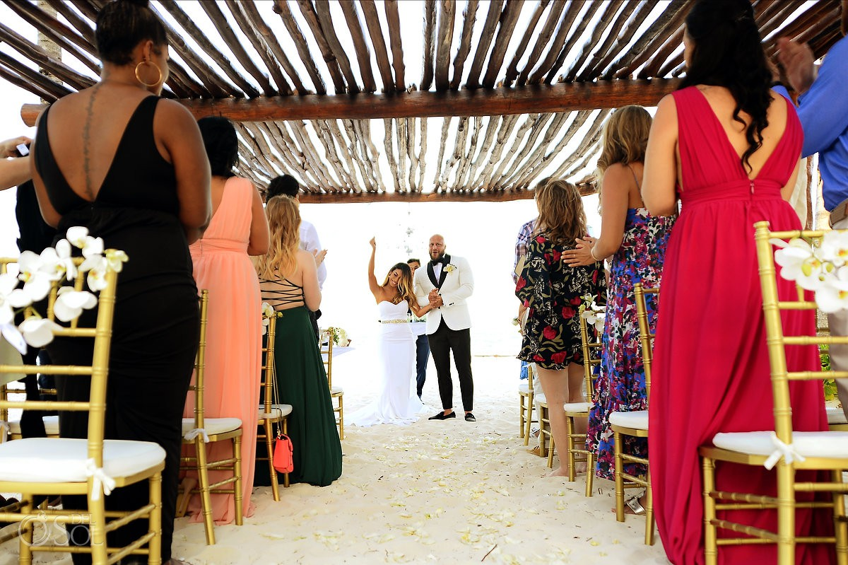 Excellence Riviera Cancun wedding ceremony