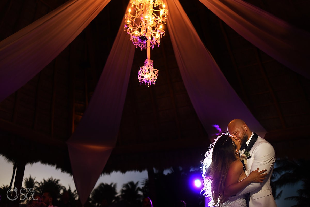 Excellence Riviera Cancun Wedding first dance