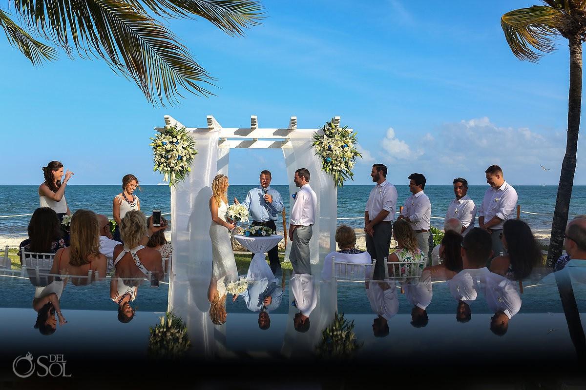 Secrets Capri Riviera Cancun Wedings