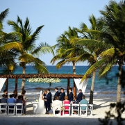 Secrets Maroma Beach Wedding intimate outdoor wedding in paradise Riviera Cancun Mexico