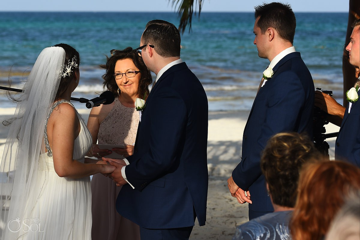 Wedding Ceremony Secrets Maroma Beach Riviera Cancun Mexico