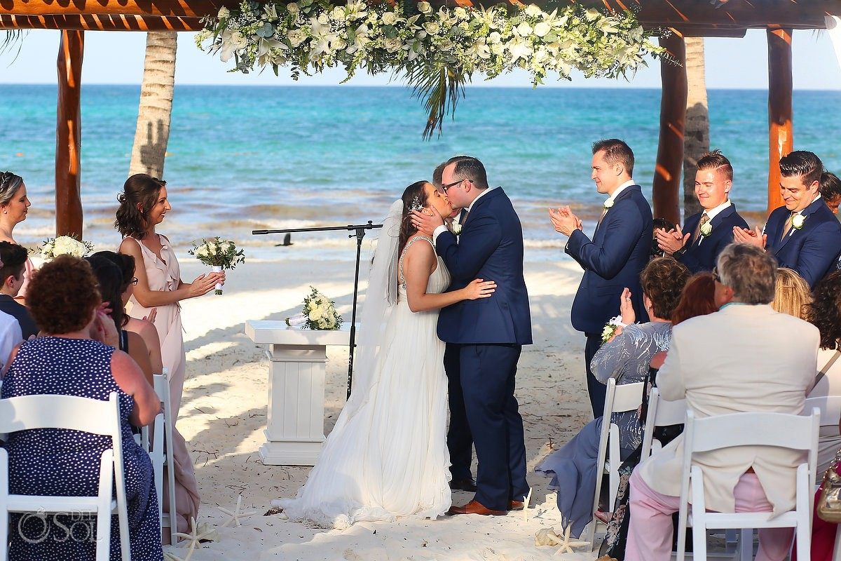 Secrets Maroma Beach wedding Riviera Cancun Mexico #Travelforlove
