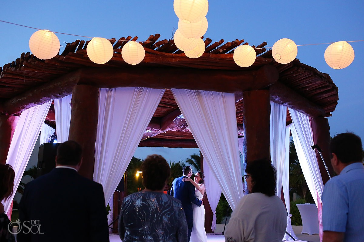 Wedding Reception Secrets Maroma Beach weddings Riviera Cancun Mexico