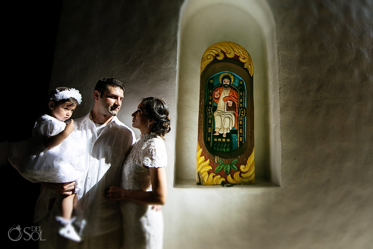 Xcaret Baptism virgin mary shrine #Aworldofitsown