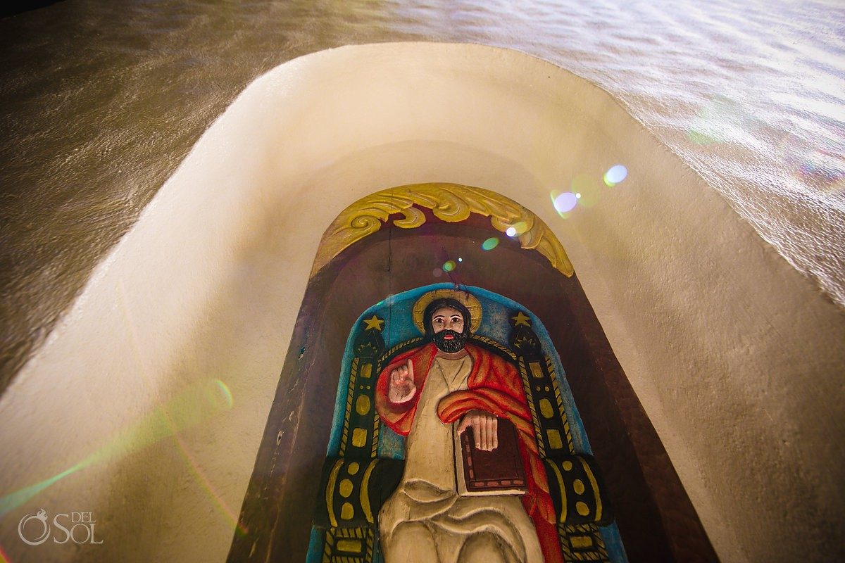 Xcaret Baptism San Francisco de Assis Chapel Playa del Carmen #Aworldofitsown