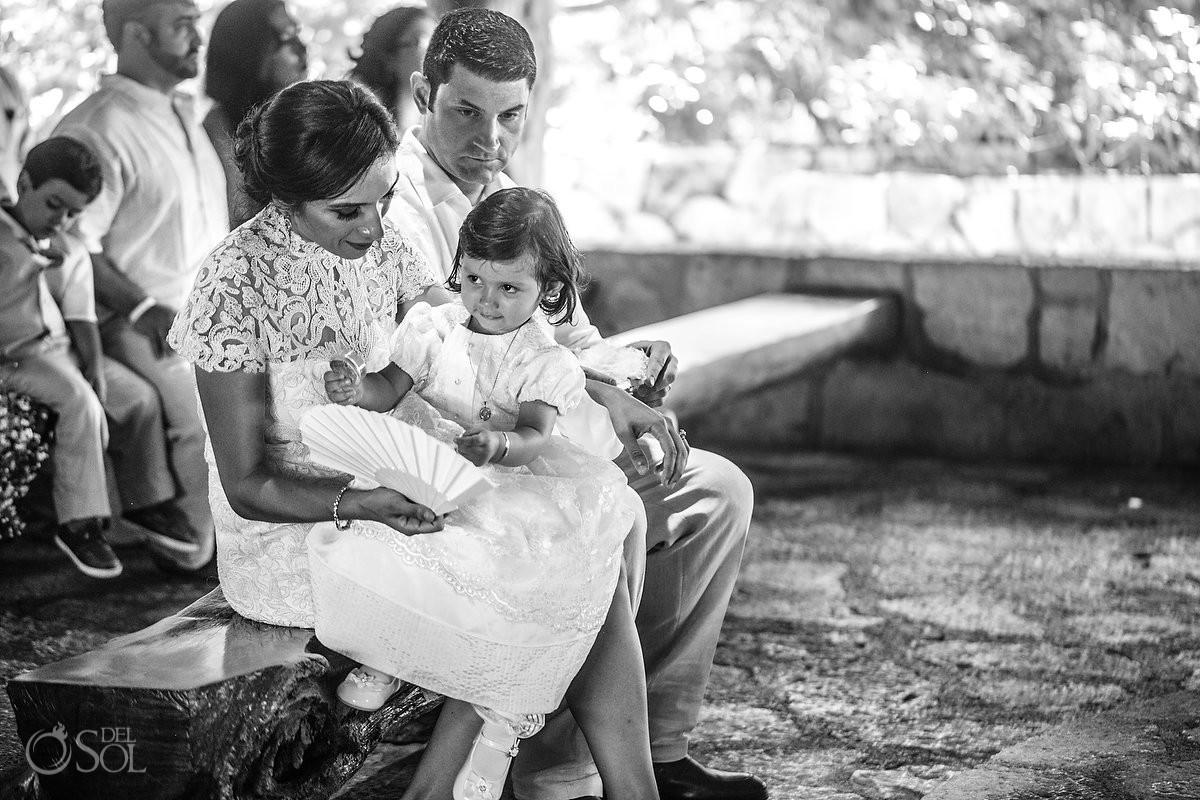 Xcaret Baptism San Francisco de Assis Chapel Playa del Carmen Mexico