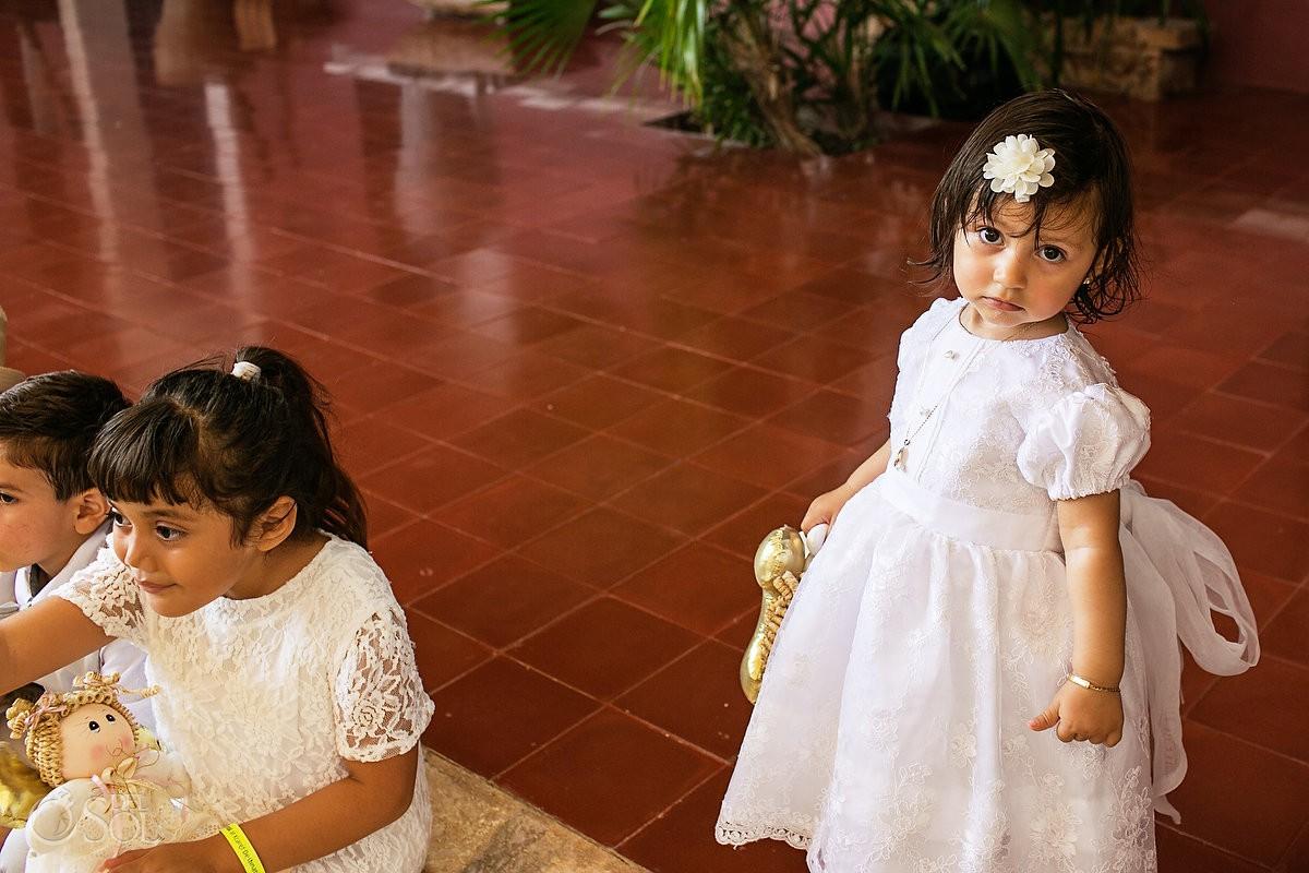 Xcaret baptisms children and kids