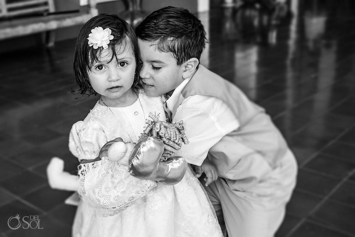 Xcaret Baptisms beautiful children