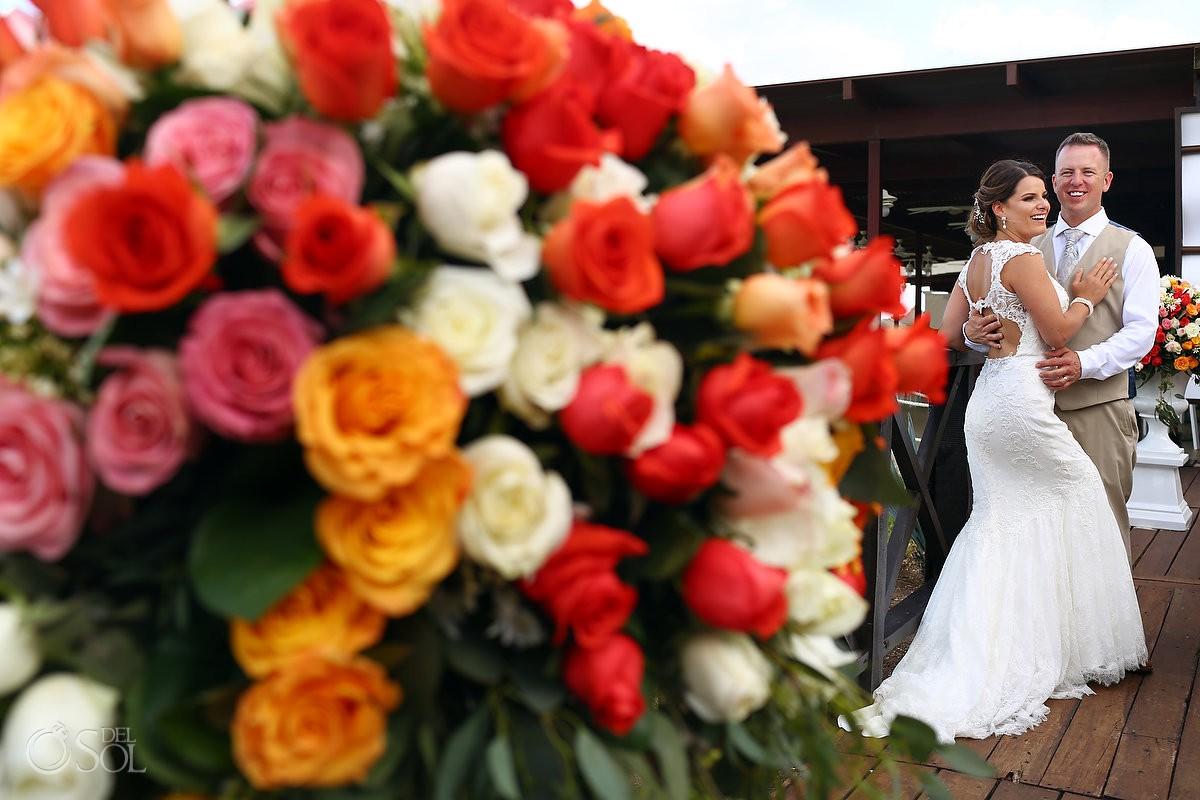 Now Sapphire Weddings flowers Riviera Maya Mexico