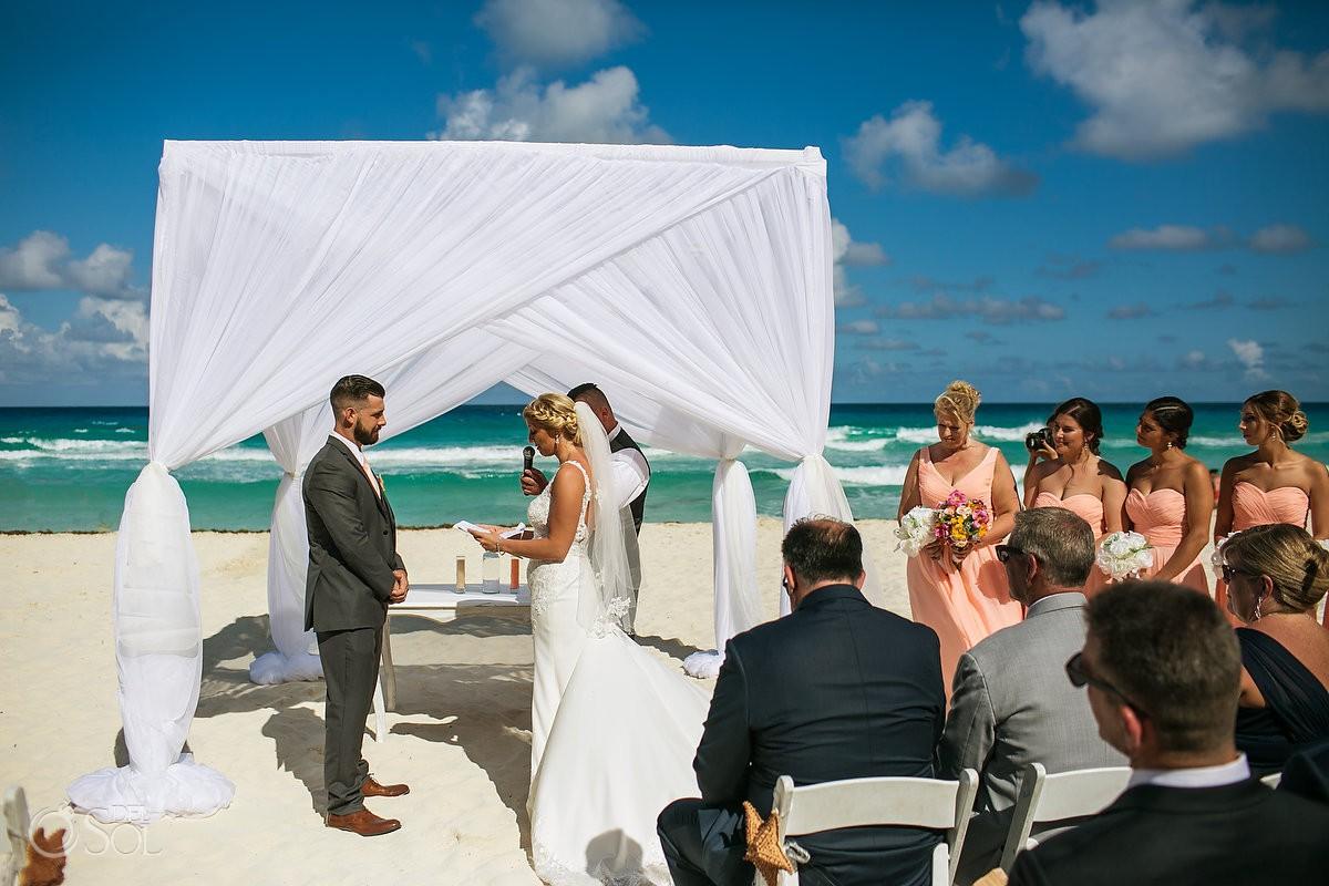 Beach Palace Wedding Cancun Mexico