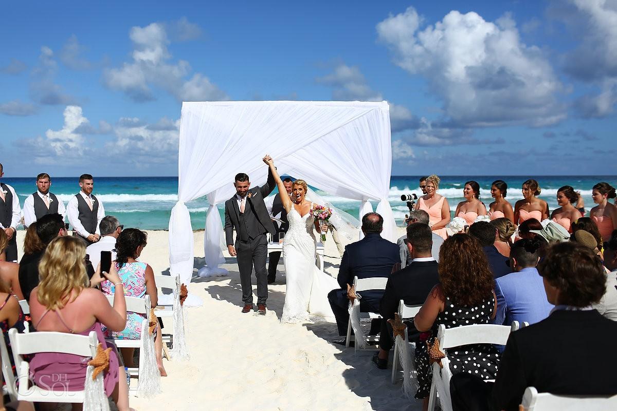 Cancun destination wedding Beach Palace