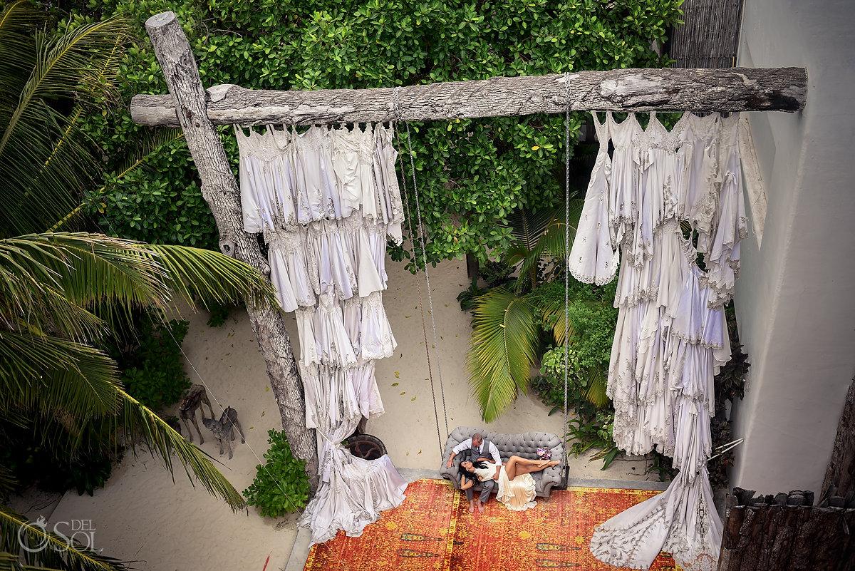Casa Malca Tulum Wedding portrait #travelforlove