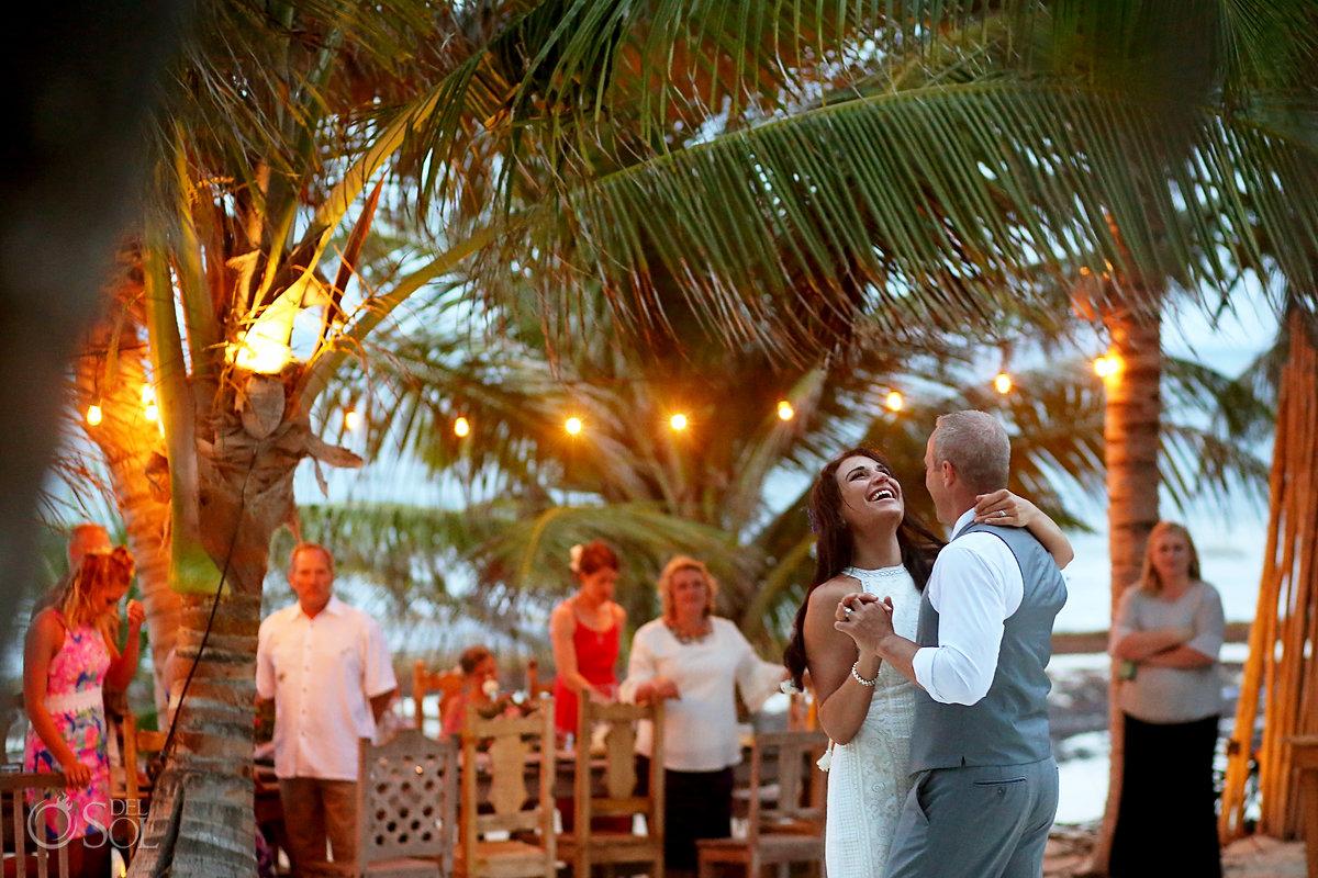 first dance Casa Malca Tulum Wedding