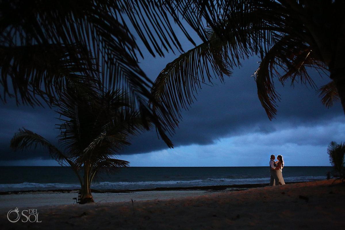#cloudporn thunderstorm portrait Casa Malca Tulum Wedding