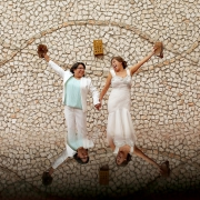 Hacienda Corazon Wedding lgbt couple