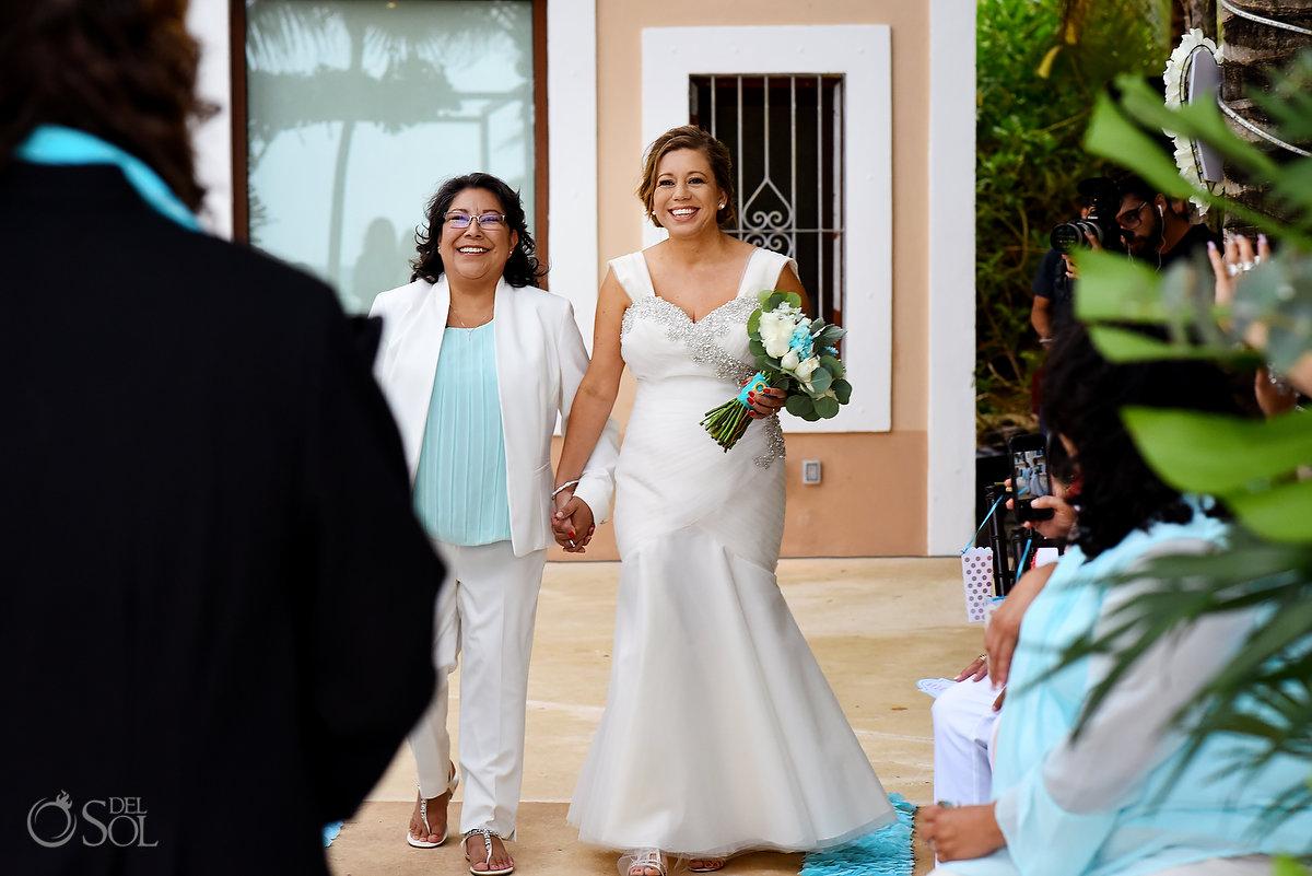 same sex Wedding Mexico #lovewins Hacienda Corazon Puerto Aventuras