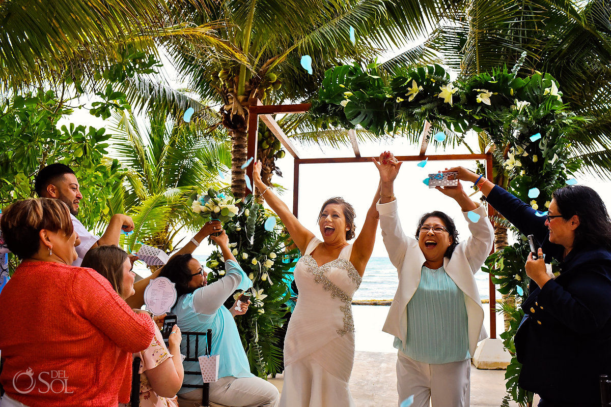 Hacienda Corazon Wedding celebrating marriage equality #lovewins