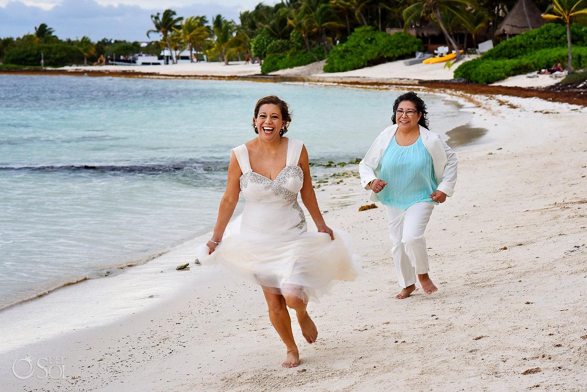 Hacienda Corazon Wedding playful brides #samelove