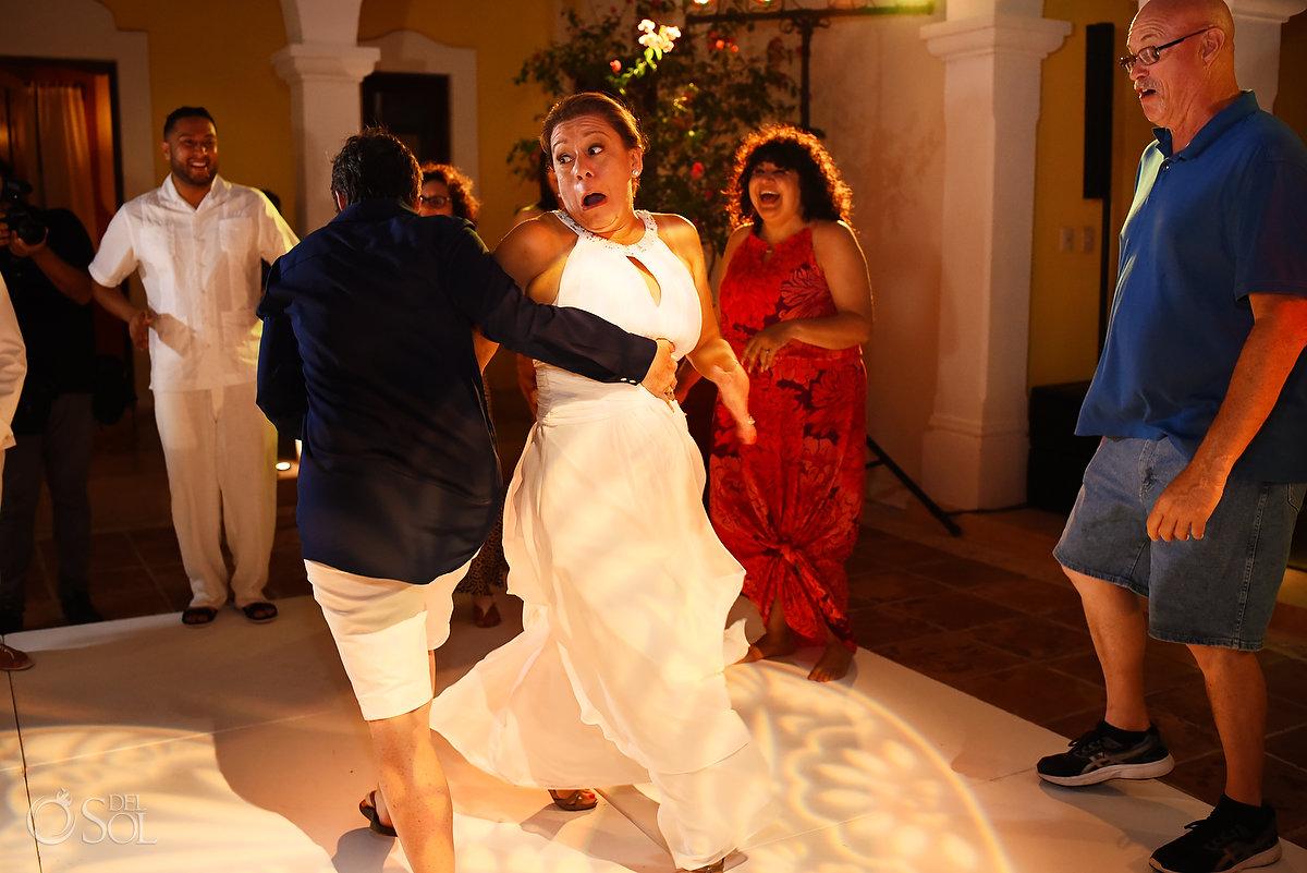 funny moments Hacienda Corazon Wedding