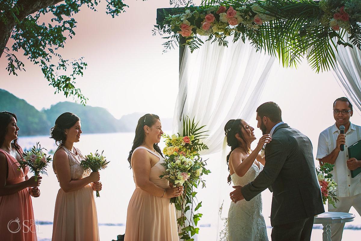 Dreams Las Mareas Wedding Ceremony